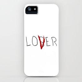 lo(v)er iPhone Case