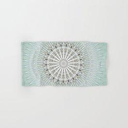 Mint Taupe Mandala Hand & Bath Towel
