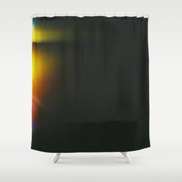 Black and Gradient  Shower Curtain