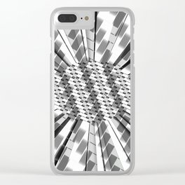 Witness the Weave Clear iPhone Case