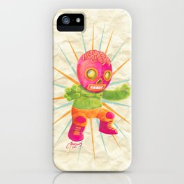 zombie ala lucha  iPhone Case