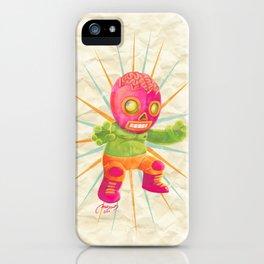 zombie ala lucha  iPhone Case