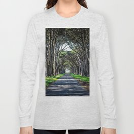 Cypress Tree Tunnel Long Sleeve T-shirt