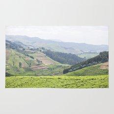land of a thousand hills::rwanda Rug