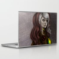rogue Laptop & iPad Skins featuring Rogue v1 by Hallowette