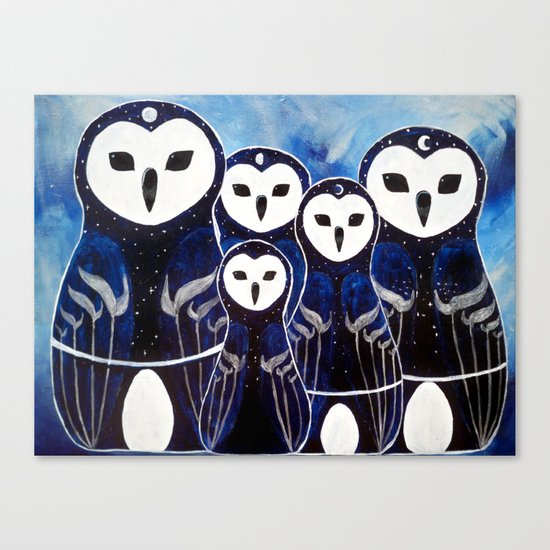 Matroshka Guardians Canvas Print