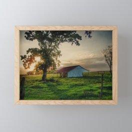 Old Shed Framed Mini Art Print