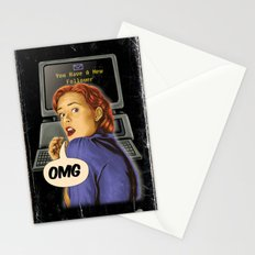 You Have a New Follower Stationery Cards