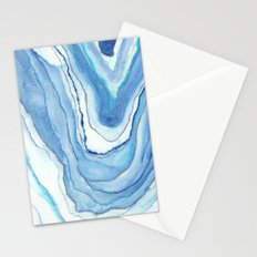 Agate Watercolor 12 Stationery Cards