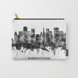 Birmingham England Skyline BW Carry-All Pouch