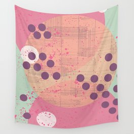 Paintdrops Wall Tapestry