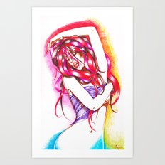Summer Heat Art Print