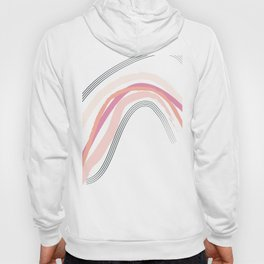 Pink Rainbow Hoody