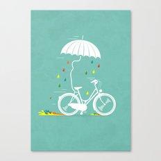 I want to ride my bike ! Canvas Print