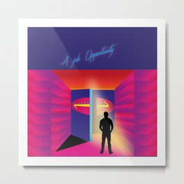Retrowave chapter 5 Metal Print