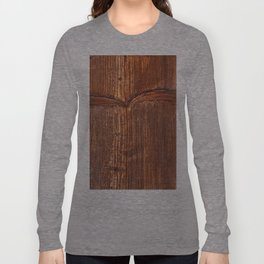 vertical structure of spruce board Long Sleeve T-shirt