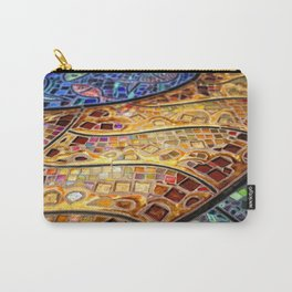 Venice Tiles Carry-All Pouch