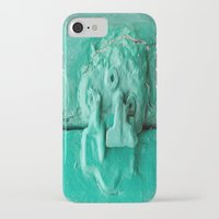 platypus iPhone & iPod Cases featuring Platypus Face  by Ethna Gillespie