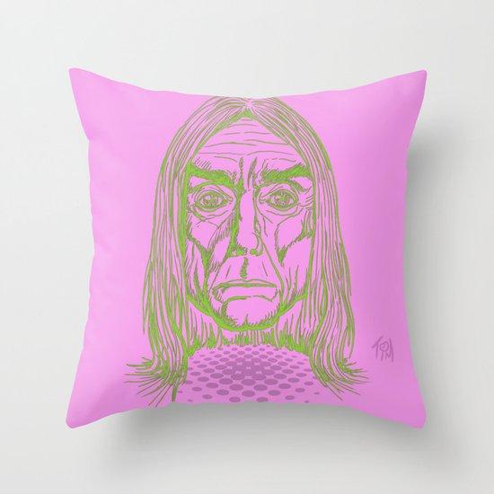 """Ready to Die"" by Tim Lukowiak Throw Pillow"