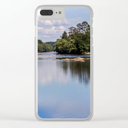 Broad River Clear iPhone Case