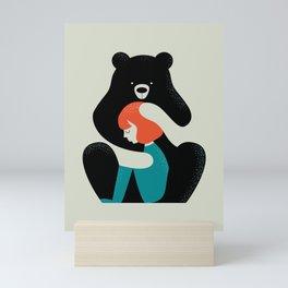 Big Bear Hug Mini Art Print