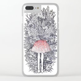 Anthophobia Clear iPhone Case