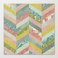 Chevron Pattern Canvas Print