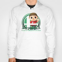 super smash bros Hoodies featuring Villager - Super Smash Bros. by Donkey Inferno