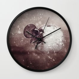 Harsh Conditions Wall Clock