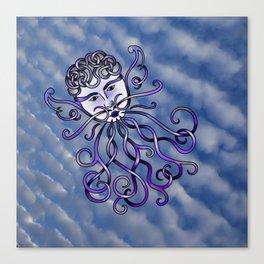 Zephyr Knot Canvas Print