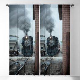 Strasburg Railroad Steam Engine #90 Vintage Train Locomotive Pennsylvania Blackout Curtain