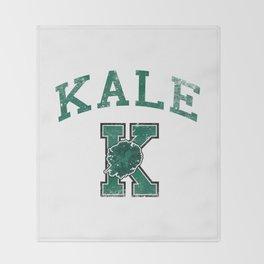 University of Kale Throw Blanket