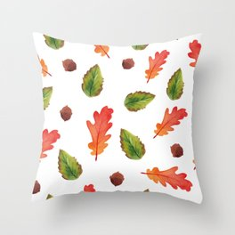 Autumn feelings Throw Pillow
