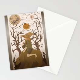Bear Wizard Stationery Cards