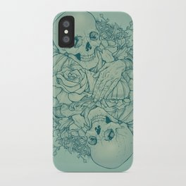 All the Pretty Flowers iPhone Case