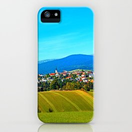 Unsettled geography iPhone Case