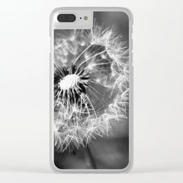 Dandelion & Autumn Clear iPhone Case