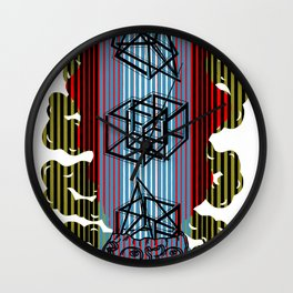 Impossible mind Wall Clock