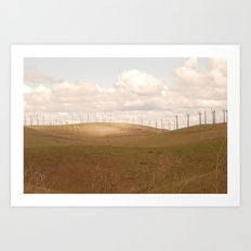 Turbines At Altamont Art Print