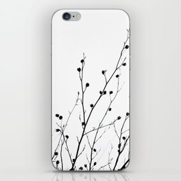 Winter Silhouettes 2 iPhone Skin