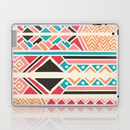 Tribal ethnic geometric pattern 037 Laptop & iPad Skin