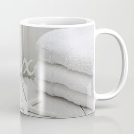 Relax Seaside Bathroom Spa Coffee Mug