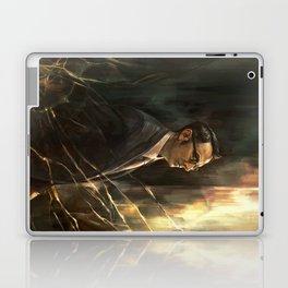 The Abyss Gazes Back Laptop & iPad Skin