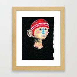 OUT HERE WE ARE ALL THE SAME Framed Art Print