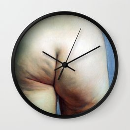 Felix Vallotton -  Study of buttocks (new color editing) Wall Clock