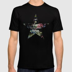 And the Stars look very Different today... Black MEDIUM Mens Fitted Tee