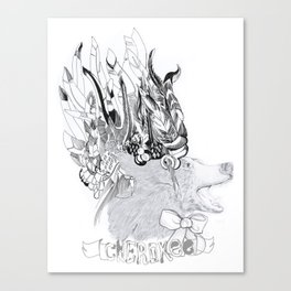 Cherokee Bear Canvas Print