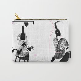 Wine Couple (Centaur & Grizzle) Carry-All Pouch