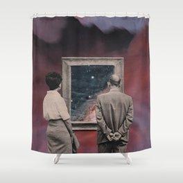 Blick ins Innere Shower Curtain