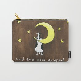 Cow Jumped Over the Moon Carry-All Pouch